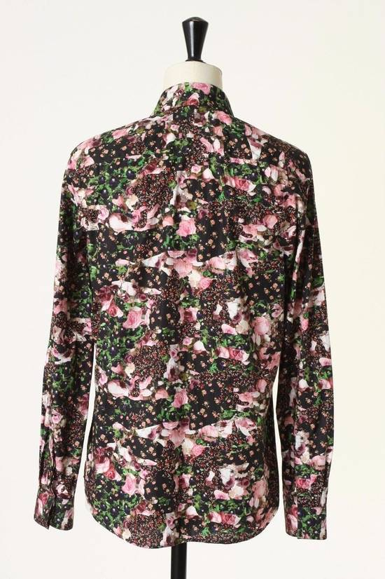 Givenchy GIVENCHY Pre14 reversed panel rose floral digital print cotton shirt US40 FR50 Size US M / EU 48-50 / 2 - 5