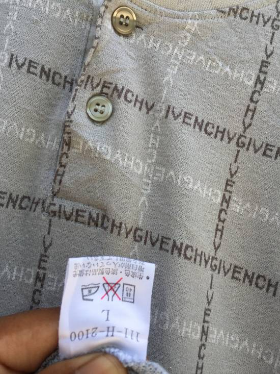 Givenchy Vintage Givenchy Spellout Logo Printed Long Sleeve Tshirt Size US L / EU 52-54 / 3 - 15