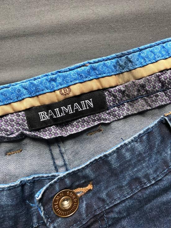 Balmain Blue Denim Jeans Size US 40 / EU 56 - 3