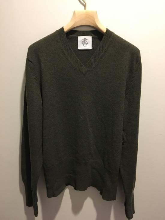 Thom Browne Black Fleece/Thom Browne Green Vneck Size US M / EU 48-50 / 2