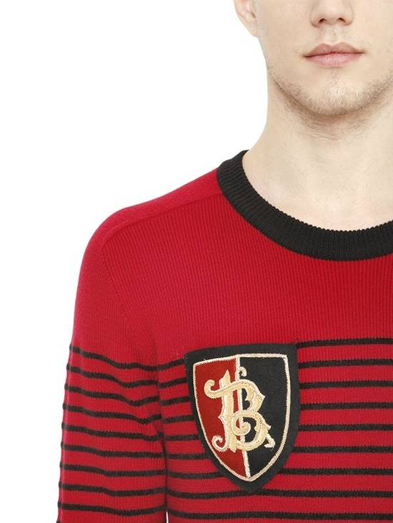 Balmain Striped merino wool Size US S / EU 44-46 / 1 - 1