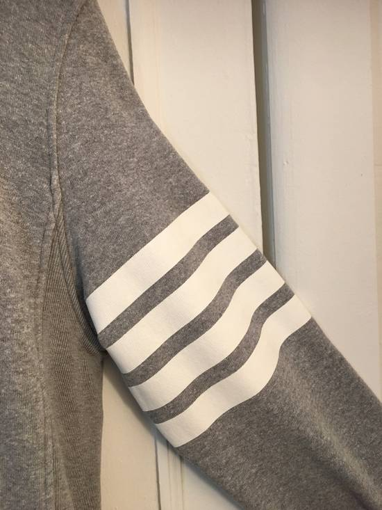 Thom Browne [RARE] Gray Thom Brown 4 Striped Pullover Hoodie Size 2 Size US M / EU 48-50 / 2 - 1