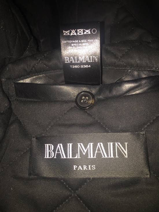 Balmain Balmain Geometric Leather Jacket Size US S / EU 44-46 / 1 - 1