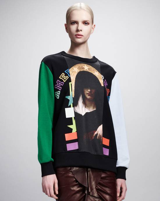 Givenchy $1375 Givenchy Colorblocked Madonna American Dream Rottweiler Sweatshirt size M Size US M / EU 48-50 / 2 - 3