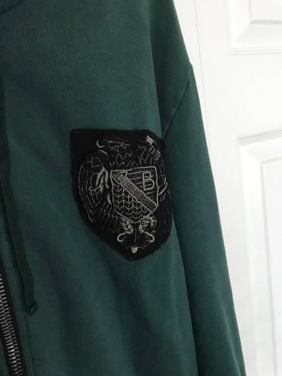 Balmain Embroidered Crest Side Zip Hoodie Size US L / EU 52-54 / 3 - 5