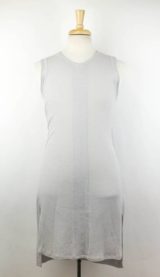 Julius MA_JULIUS Gray Cotton Blend 'Plaster' Long Tank Top T-Shirt Size 2/S Size US S / EU 44-46 / 1