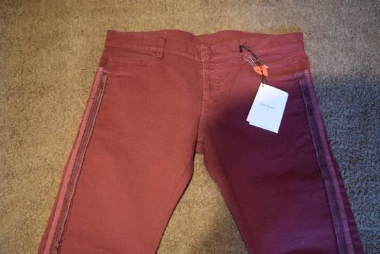 Balmain Balmain Authentic $1090 Jeans Burgundy Size 33 Slim Fit Brand New Size US 33 - 1