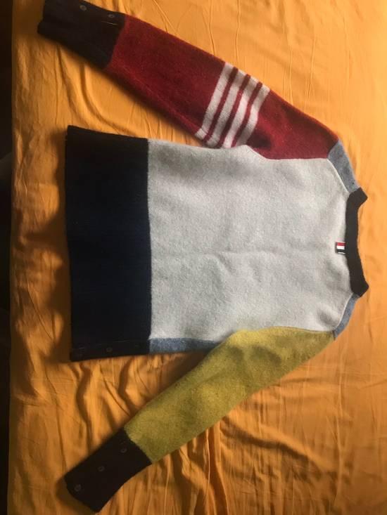 Thom Browne Thom Browne Paneled Sweater Size US L / EU 52-54 / 3 - 2
