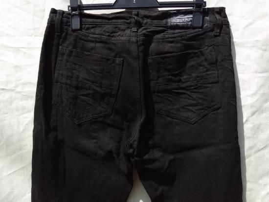 Julius Goth_ik Black Zip Hem Jeans Size US 31 - 3