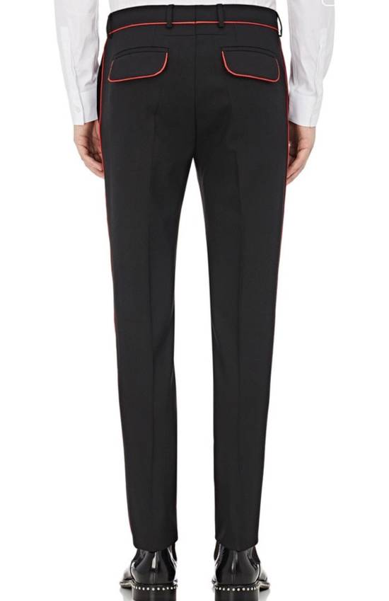 Givenchy Wool Mohair Contrast Piping Suit Size 42R - 3