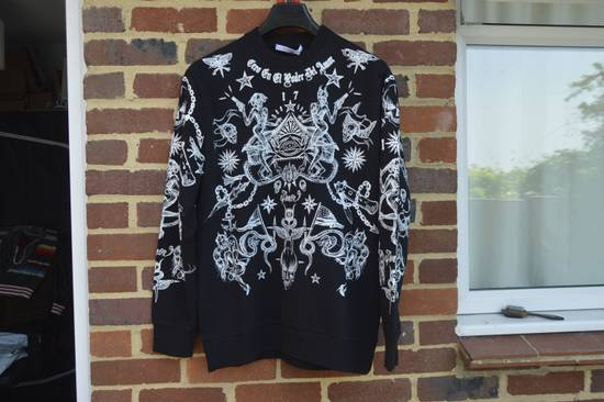 Givenchy Tattoo Print Sweater Size US L / EU 52-54 / 3