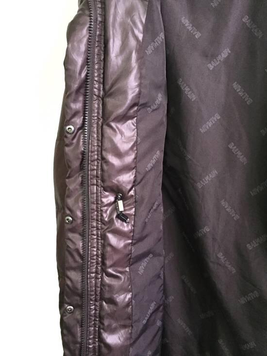 Balmain Puffer Jacket Monogram Bailman Button Up Full Zipper Size US L / EU 52-54 / 3 - 5