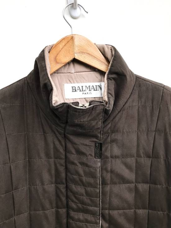 Balmain Balmain Paris Quilted Zipper Jacket Size US S / EU 44-46 / 1 - 2