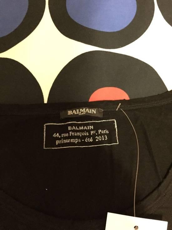 Balmain L/S Tee Black FW13 Size US XS / EU 42 / 0 - 1