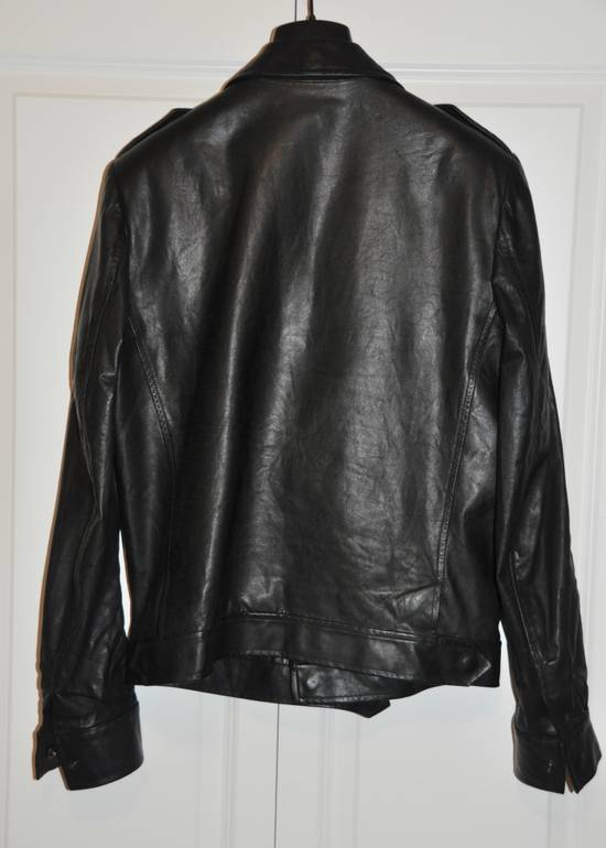 Balmain Black leather jacket Decarnin Size US M / EU 48-50 / 2 - 4