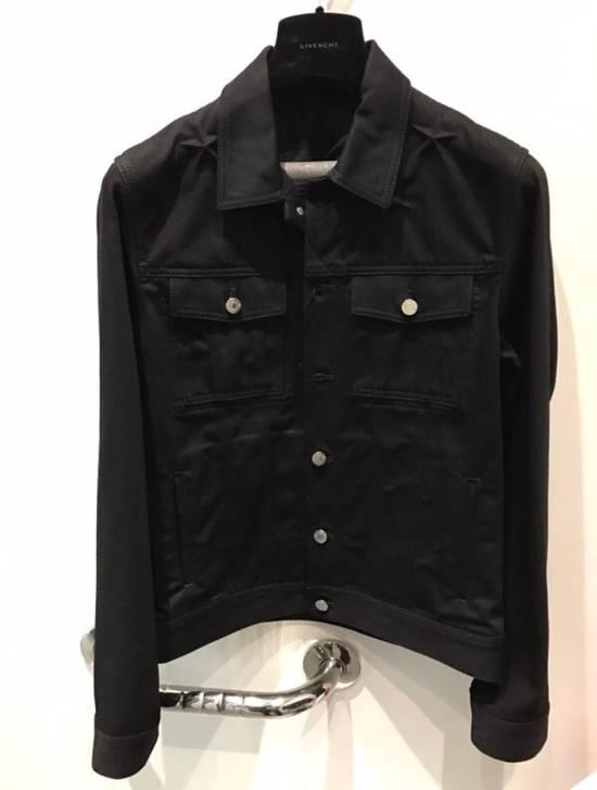 Givenchy Black Denim Star Jacket Size US XS / EU 42 / 0