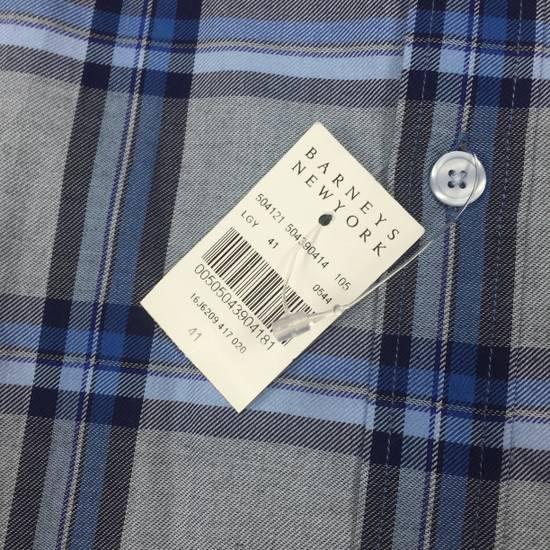 Givenchy Blue Cuban Fit Flannel Shirt NWT Size US M / EU 48-50 / 2 - 12