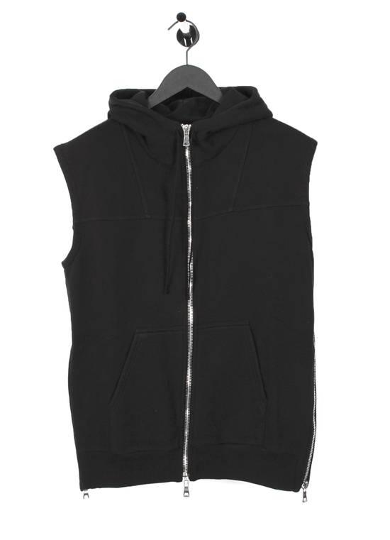 Balmain Original Balmain Hooded Black Men Sleeveless Sweatshirt Top Vest in size M Size US M / EU 48-50 / 2