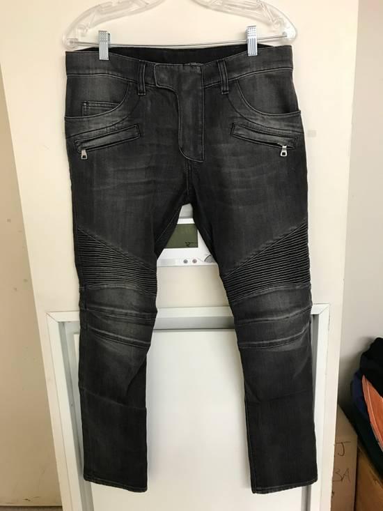 Balmain Decarnin era Balmain Biker Jeans Size US 31