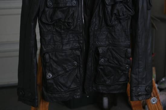 Julius FW08 Cowhide Gasmask Cargo Jacket Size US S / EU 44-46 / 1 - 2