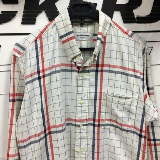 Thom Browne Thom Browne Brand Nova Long Sleeve Shirt Size US L / EU 52-54 / 3 - 2