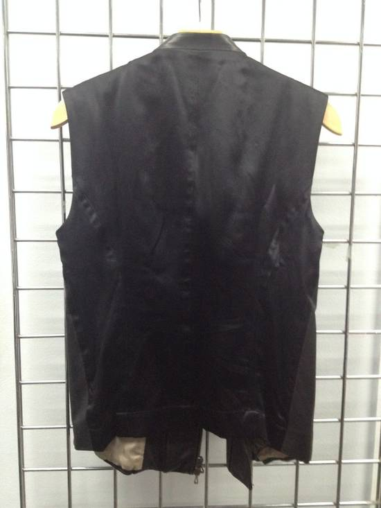 Julius LEATHER BIKER VEST Size US S / EU 44-46 / 1 - 4