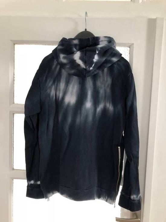 Balmain Balmain Blue Tie-Dye Zip Up Hoodie Size US XL / EU 56 / 4 - 4