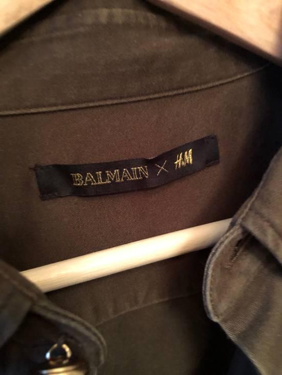 Balmain Shoulder Detailed Military Inspired Shirt Size US L / EU 52-54 / 3 - 3