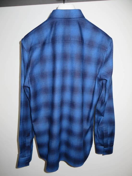 Givenchy Embroidered flannel shirt Size US S / EU 44-46 / 1 - 5