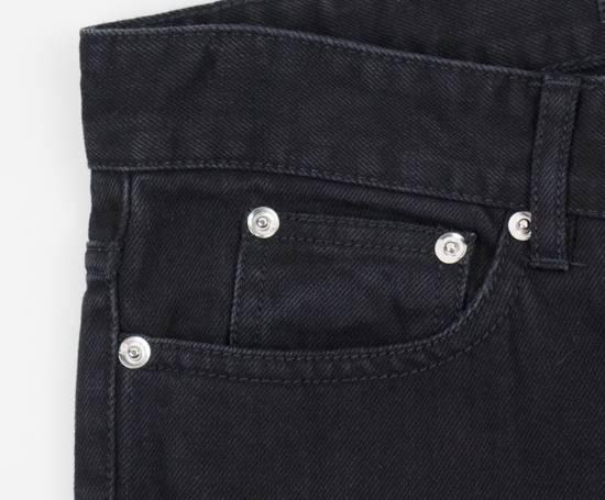 Givenchy Black Cotton Denim Jeans Pants Size US 32 / EU 48 - 3