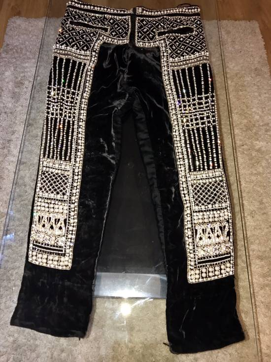 Balmain Balmain Fall 2012 Swarovski Crystal Fabergé Trouser Size US 32 / EU 48 - 8