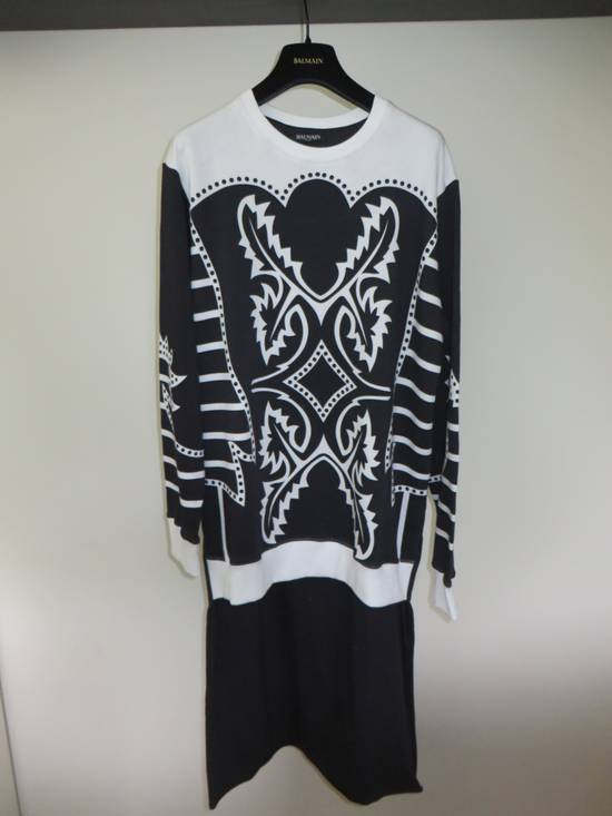 Balmain Asymmetrical sweatshirt Size US M / EU 48-50 / 2 - 1