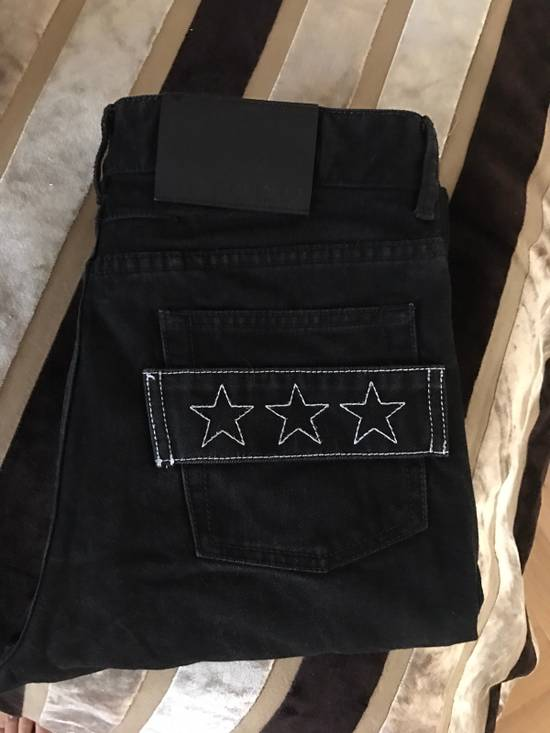 Givenchy 3 star Jeans in black Size US 30 / EU 46