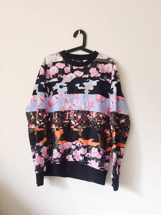 Givenchy Givenchy Multi Coloured Flower Print Jumper Size US M / EU 48-50 / 2