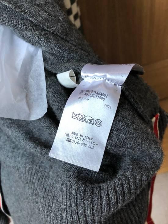 Thom Browne Signature Grey Cashmere Cardigan Size US M / EU 48-50 / 2 - 3