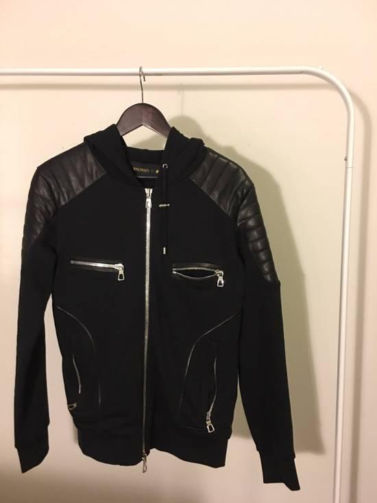 Balmain BALMAIN HM leather Padded Zip Up Size US M / EU 48-50 / 2