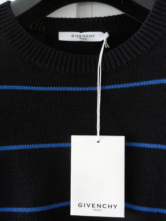 Givenchy GIVENCHY OVERSIZED STRIPED KNITTED COTTON SWEATER by Riccardo Tisci Size US L / EU 52-54 / 3 - 1