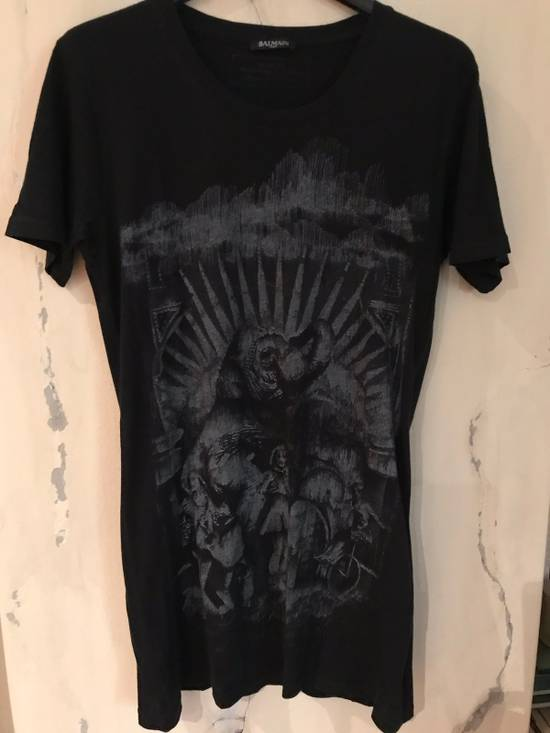 Balmain Black Elephant T-Shirt Size US S / EU 44-46 / 1