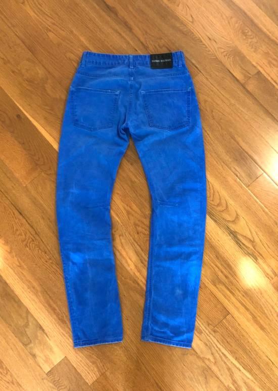 Balmain Slim/Skinny Blue Jeans Size US 30 / EU 46 - 4