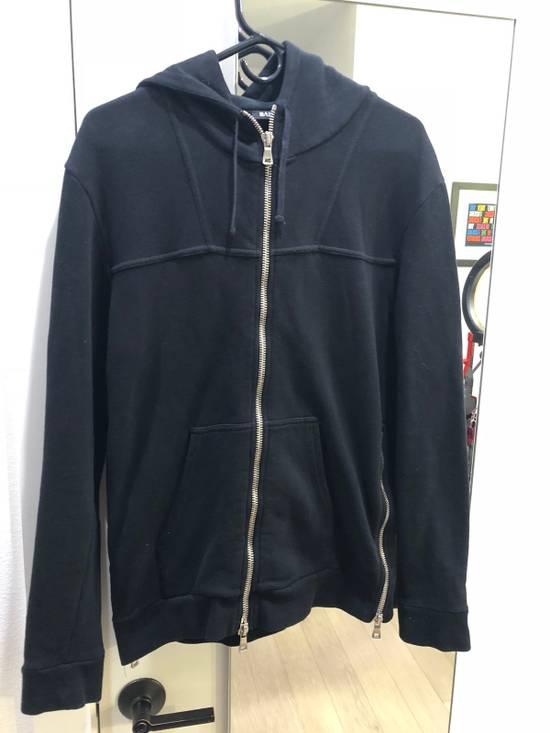 Balmain Black Zip Hoodie Size US M / EU 48-50 / 2