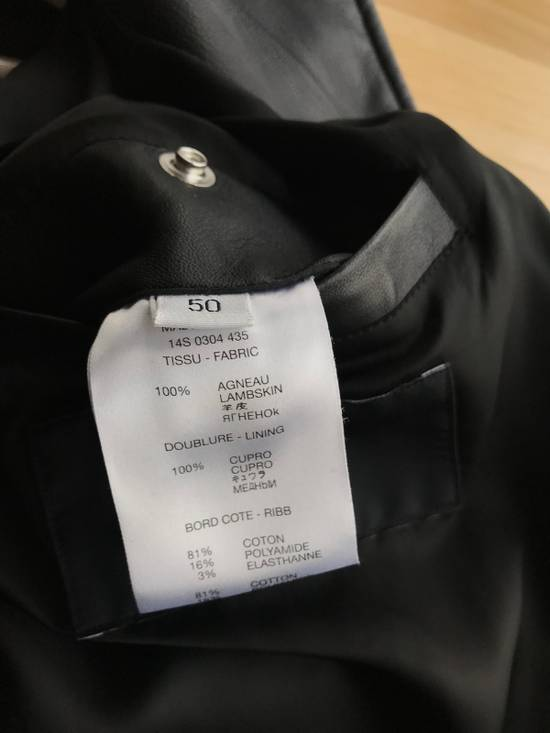 Givenchy Star Patch Leather Bomber Size US M / EU 48-50 / 2 - 3