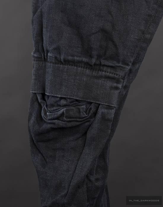 Julius 2014SS knit denim biker skinny pants Size US 28 / EU 44 - 2