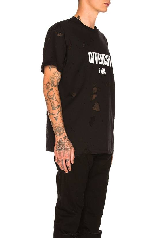 Givenchy Givenchy Black Destroyed Distressed Logo Oversized Shark T-shirt size XL (XXL) Size US XXL / EU 58 / 5 - 3