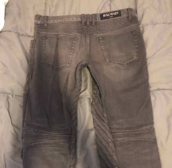 Balmain Grey Denim Jeans Size US 29 - 1