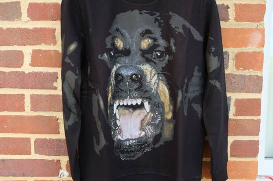 Givenchy Black Rottweiler Sweater Size US L / EU 52-54 / 3 - 2