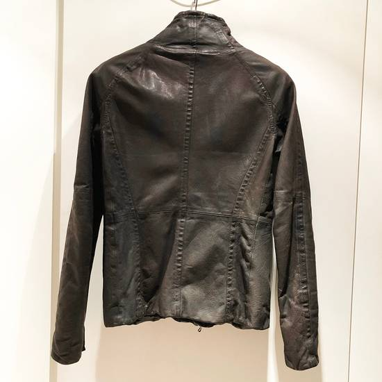 Julius Julius Goat Skin Leather Jacket Size US S / EU 44-46 / 1 - 2