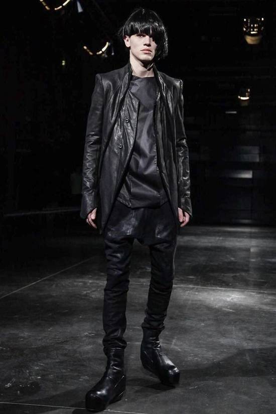 Julius Glitch Runway Waxed Jeans Size US 32 / EU 48 - 3