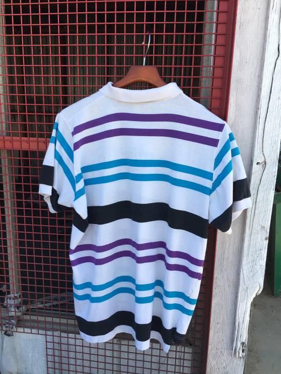Givenchy Vintage Givenchy Active Striped Polo Shirt Size US XL / EU 56 / 4 - 3