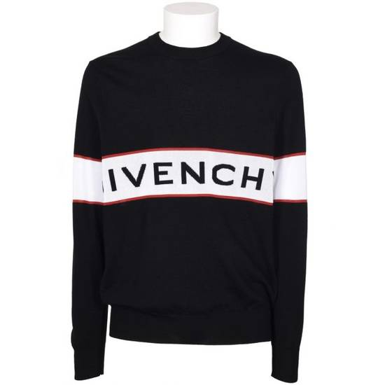 Givenchy Logo Sweater Size US L / EU 52-54 / 3