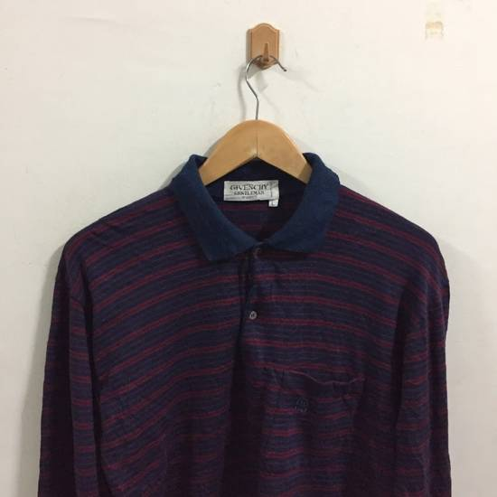 Givenchy Vintage Givenchy Gentleman Paris Polo Shirt Size L Blue Size US L / EU 52-54 / 3 - 4